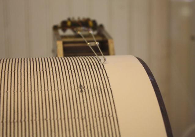 Un sismógrafo