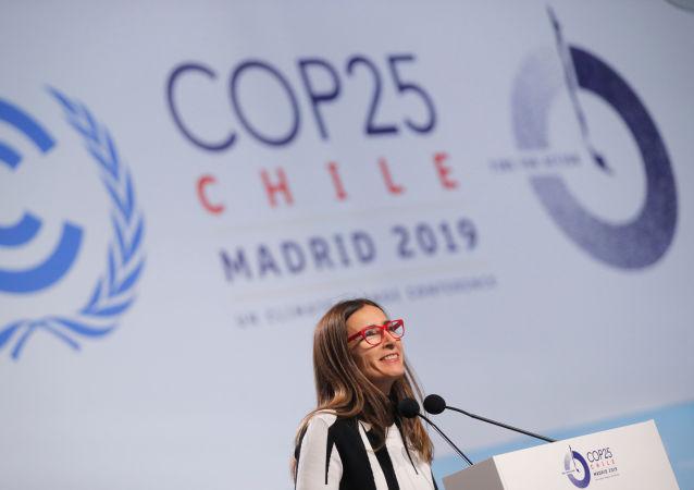 Carolina Schmidt, ministra del Medio Ambiente de Chile