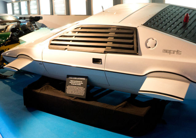 El Lotus Esprit usado en The Spy Who Loved Me