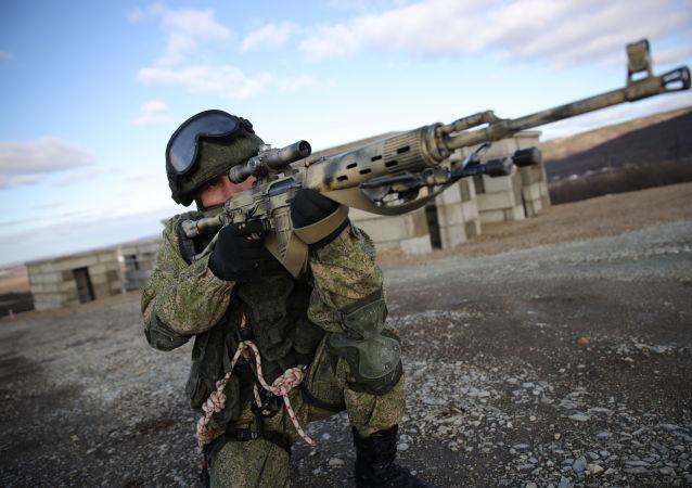 Ejercicios militares de las tropas aerotransportadas