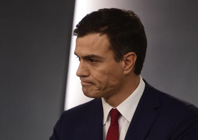 Pedro Sánchez, presidente en funciones de España (archivo)