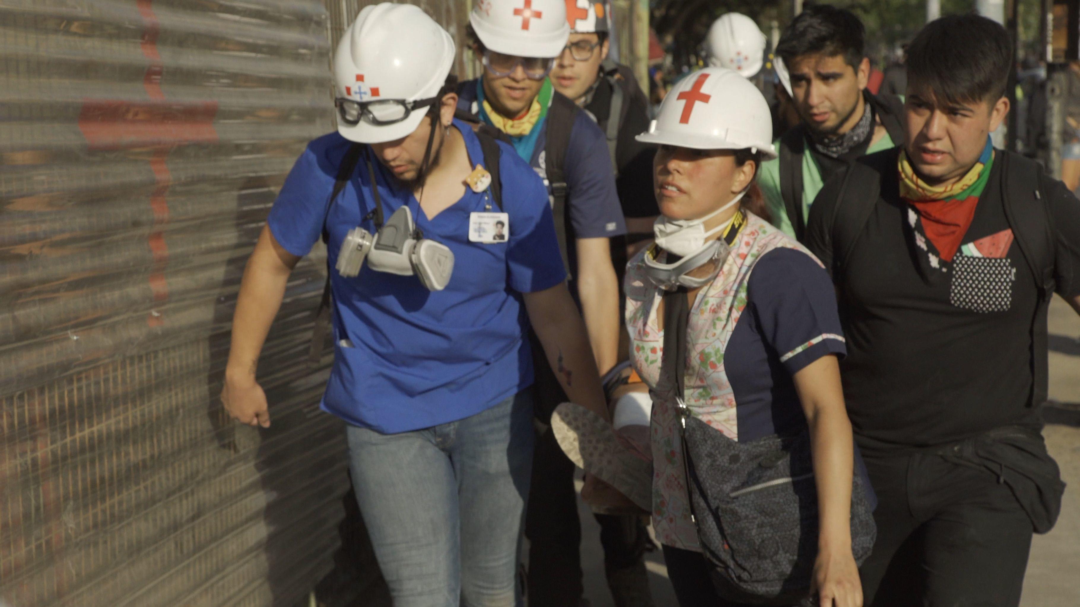 Piquetes sanitarios en Chile - Puesto Pio Nono