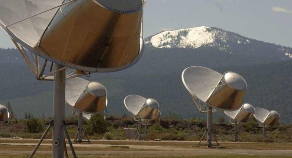 Telescopios Allen del instituto SETI (archivo)