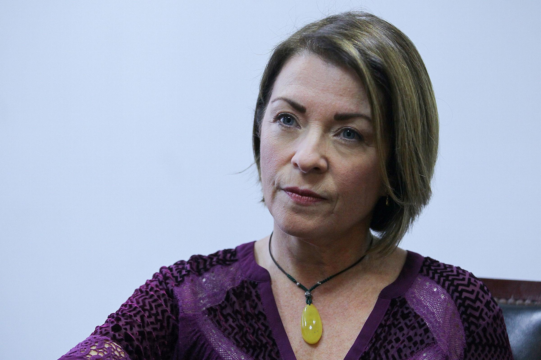 Alicia Leal Puerta, fundadora del proyecto Puerta Violeta en México