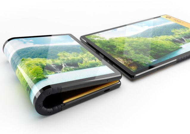Escobar Fold 1, 'smartphone' plegable de Roberto Escobar