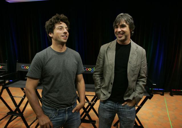 Serguéi Brin y Larry Page, cofundadores de Google