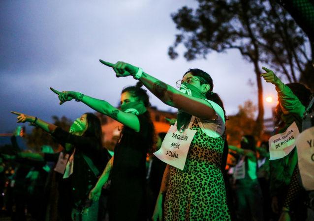 Protestas contra femicidios