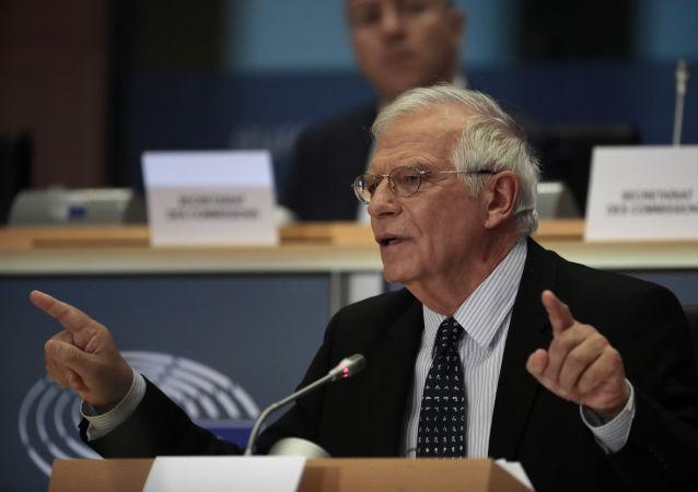 Josep Borrell, el jefe de la diplomacia de la UE