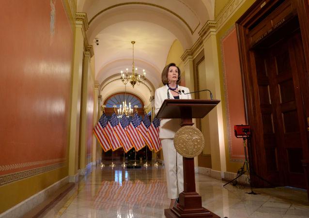 Nancy Pelosi, la presidenta de Cámara de Representantes de EEUU