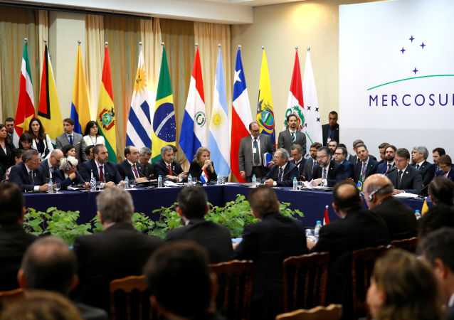 La cumbre de Mercosur en Bento Gonçalves