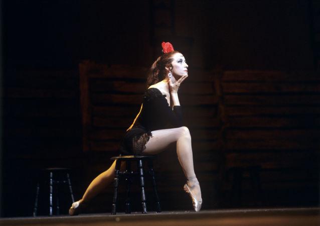 Maya Plisétskaya, la gran bailarina rusa