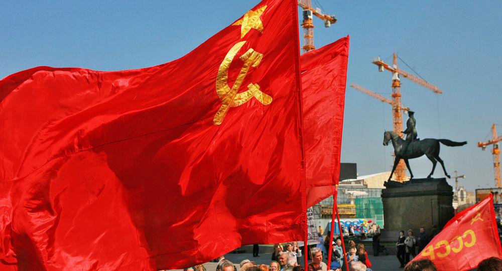 La bandera de la URSS (archivo)