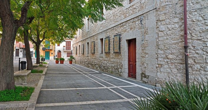 Calles de Bivona, en Italia