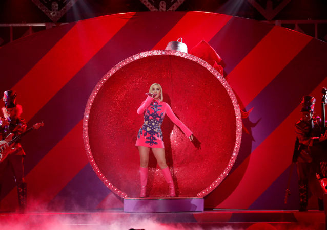 katy Perry, cantante estadounidense