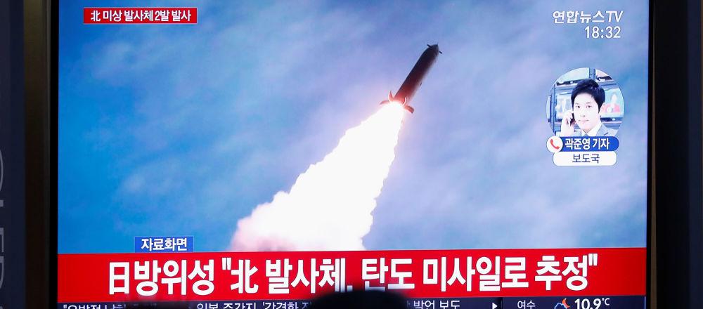 Lanzamiento de un misil norcoreano