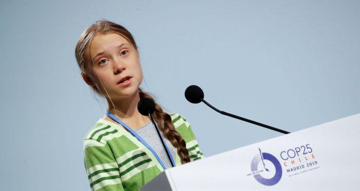 Greta Thunberg, activista sueca, en la COP25