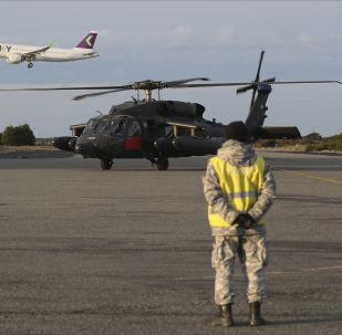 Búsqueda del avión Hércules C-130 de la Fuerza Aérea de Chile (FACH)