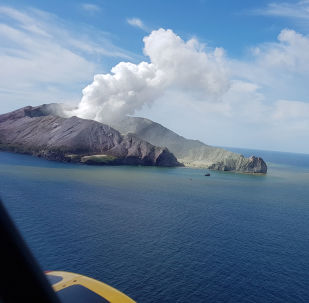 La erupción del volcán Whakaari