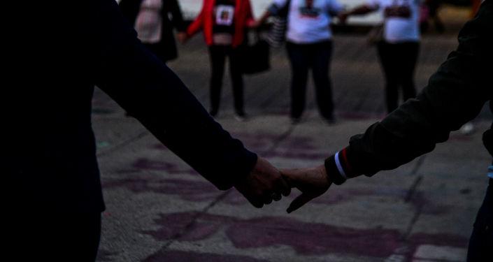 Familiares de los desaparecidos protestan en Ciudad de México