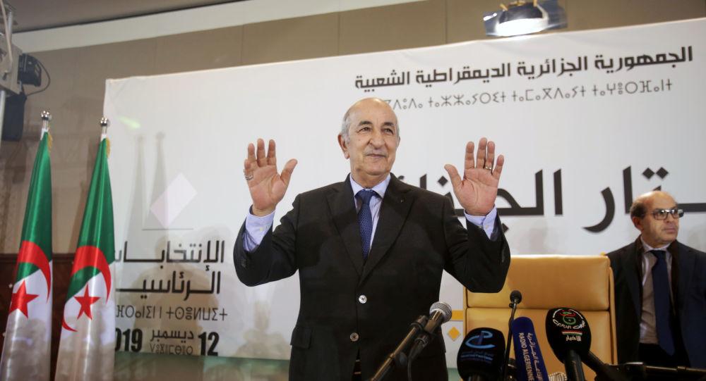 Presidente electo de Argelia, Abdelmadjid Tebboune