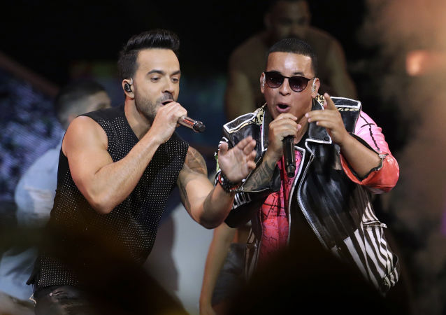 Luis Fonsi y Daddy Yankee (archivo)