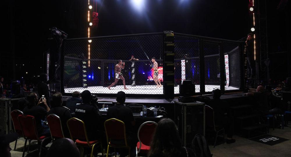 Una pelea de la MMA en Dakar, Senegal