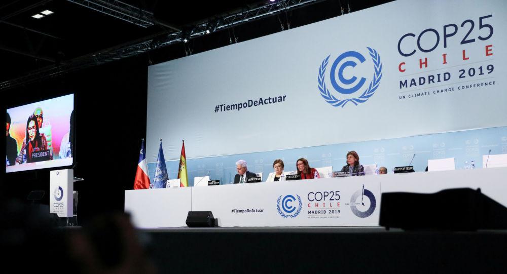 La cumbre del clima (COP25), celebrada en Madrid