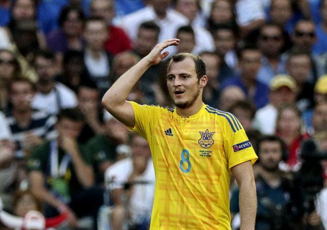El futbolista ucraniano Román Zozulya