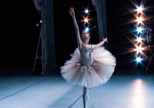 La bailarina rusa Maria Khoreva