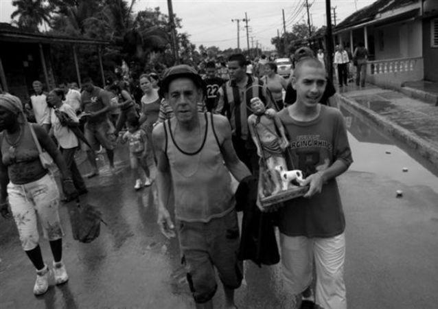 Devoción por San Lázaro en Cuba