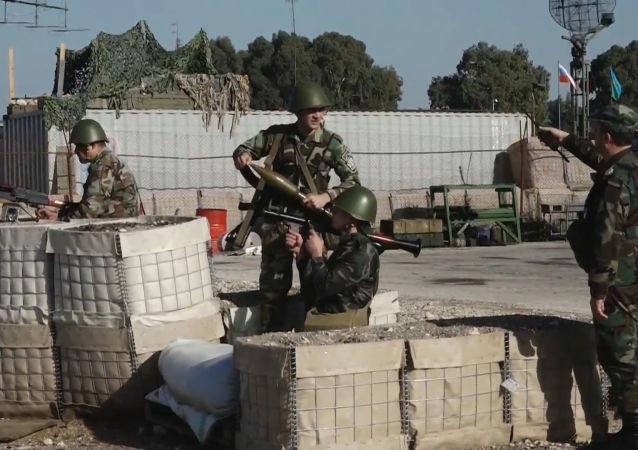 Así han sido los ejercicios navales conjuntos de Rusia y Siria al lado de Tartus