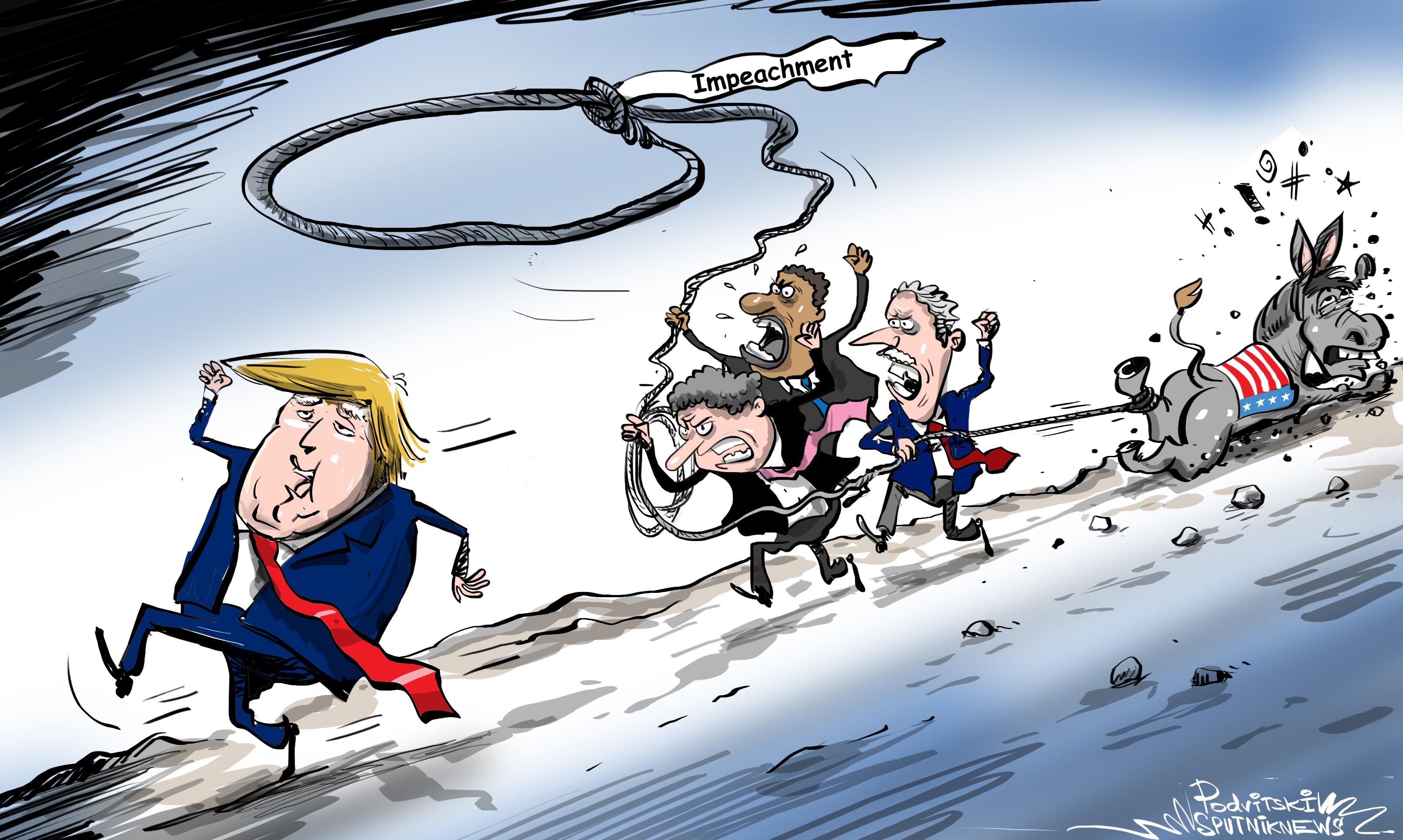 El 'burro' republicano no permitirá a los demócratas apretar la horca sobre el cuello de Trump