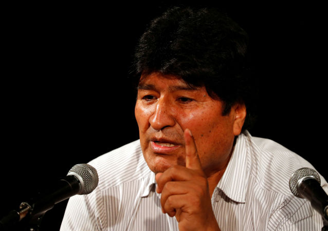 Evo Morales, derrocado expresidente boliviano