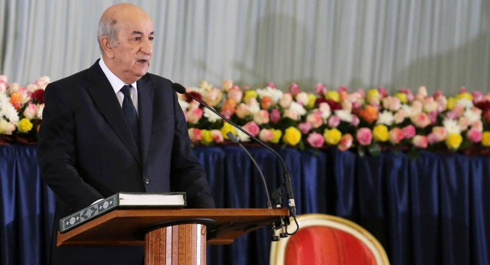 Abdelmadjib Tebboune, presidente electo de Argelia