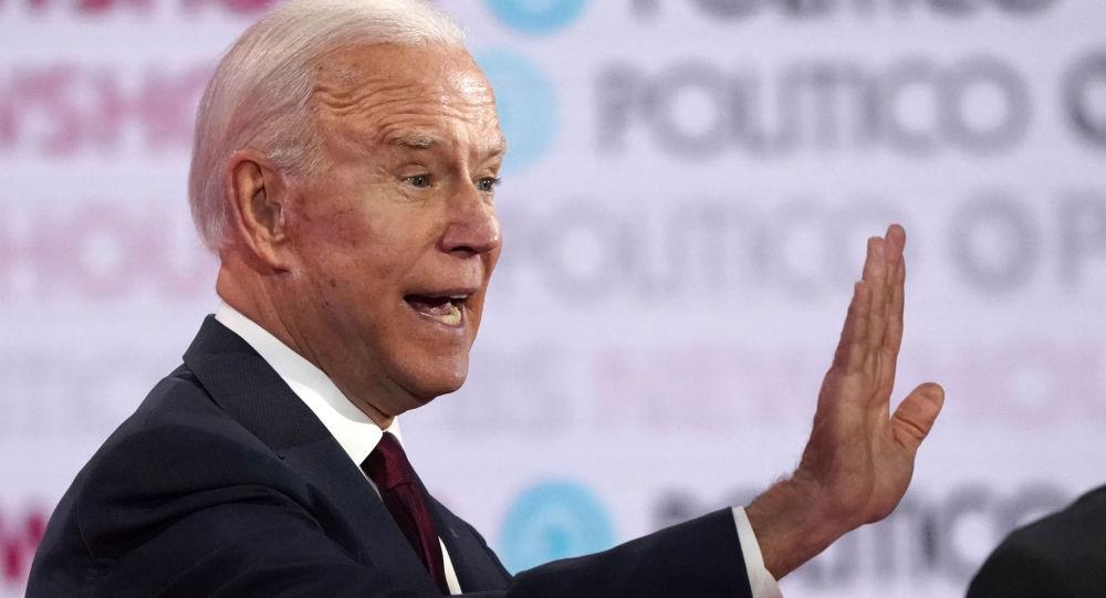 Joe Biden, precandidato demócrata a la presidencia y ex vicepresidente de EEUU