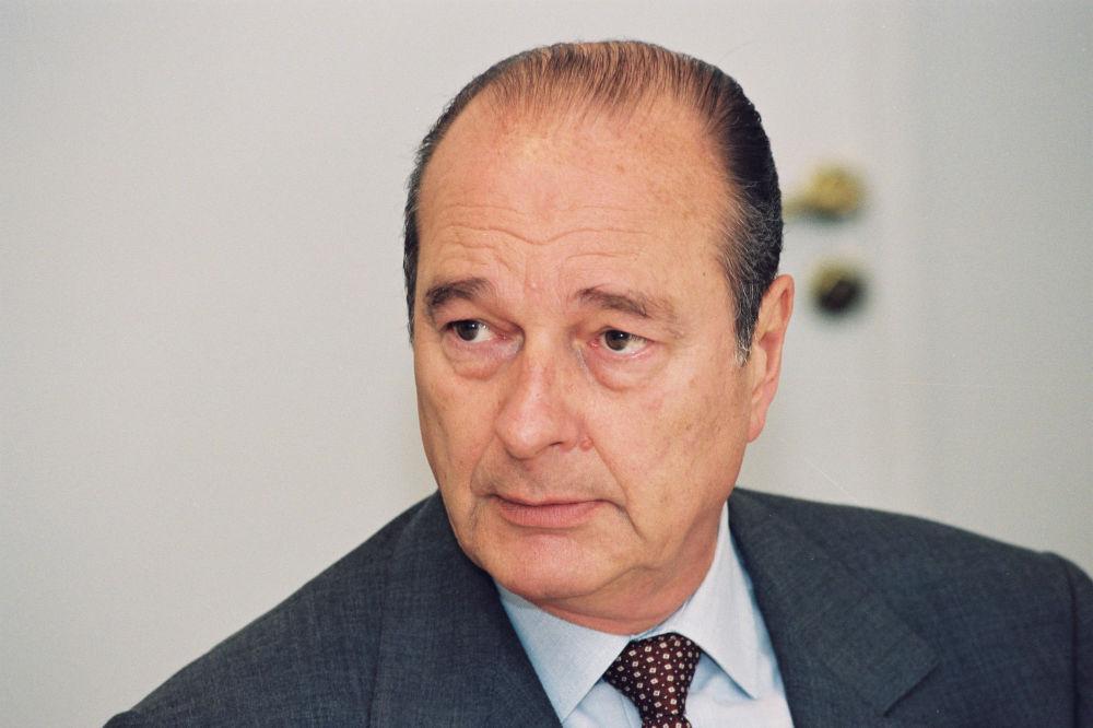 Jacques Chirac, político francés