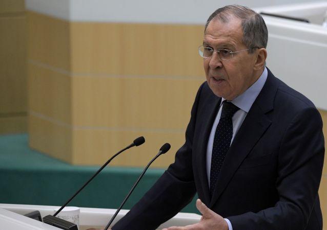 Serguéi Lavrov, el canciller de Rusia