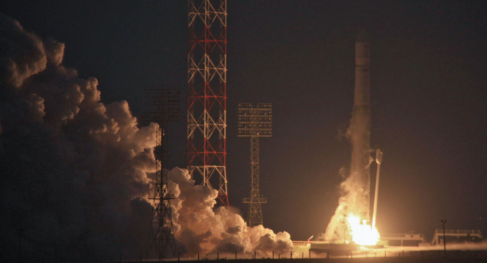 El despegue del primer satélite de la serie Electro-L realizado en 2011