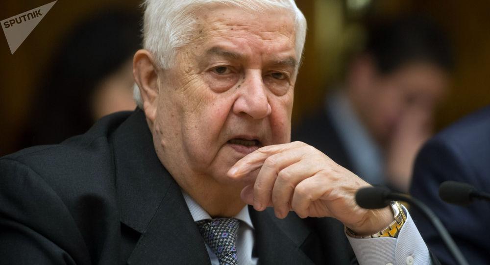 Walid Mualem, el ministro de Exteriores de Siria