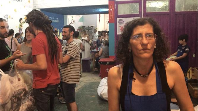 María Tomassoni, voluntaria de Fundación Sí y coordinadora de la fábrica de juguetes