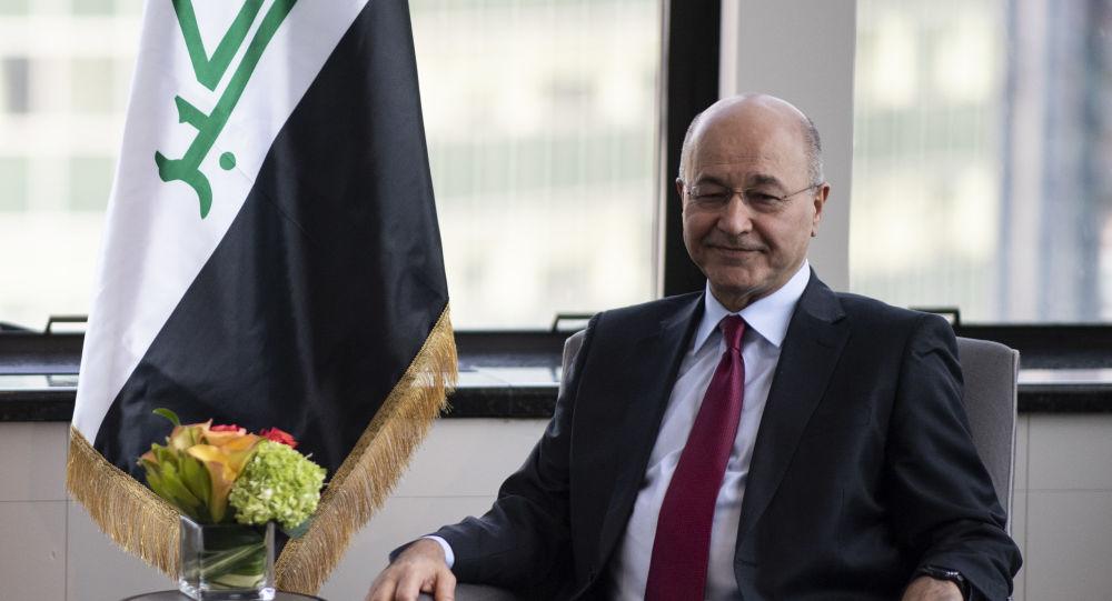 Barham Saleh, el presidente de Irak