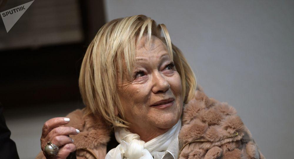 Galina Vólchek, la actriz rusa y directora del teatro Sovremennik