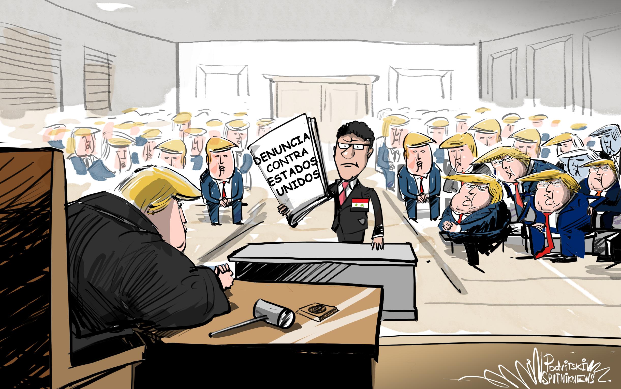 Siria demandará a EEUU por saqueo del petróleo… pero ¿quiénes serán los jueces?