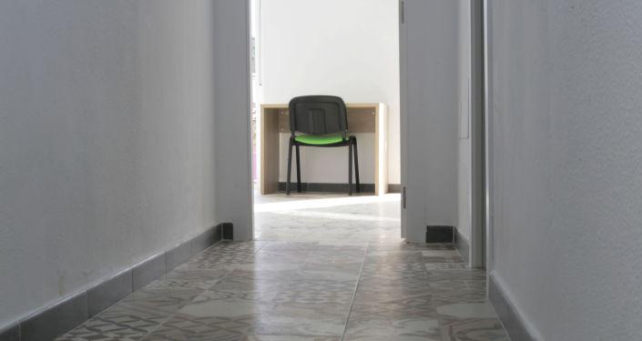 Interior de la casa donada por la familia Salcedo a la asociación Málaga Acoge