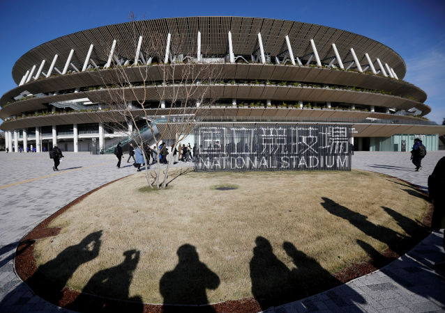 El nuevo Estadio Nacional en Tokio