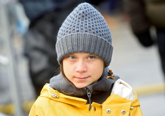 Greta Thunberg, activista sueca