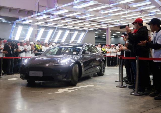 El nuevo coche d Tesla