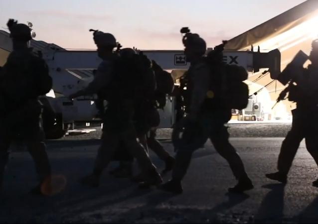 EEUU refuerza la defensa de su Embajada en Irak con helicópteros Apache