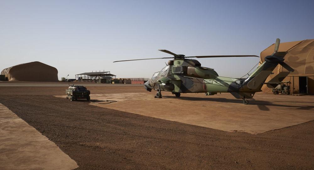 Un helicóptero alemán Tiger