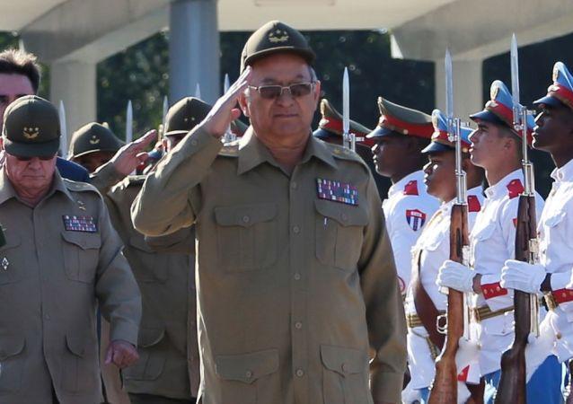 Leopoldo Cintra Frías, ministro de las Fuerzas Armadas Revolucionarias de Cuba